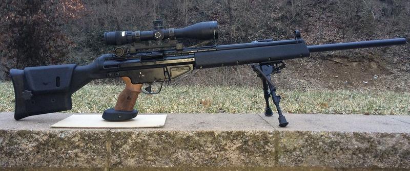 Снайперские винтовки «Heckler & Koch» PSG 1, MSG 90 и SL 9 SD (ФРГ)