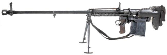Конструкция винтовки «Brno» обр. 1941 г.