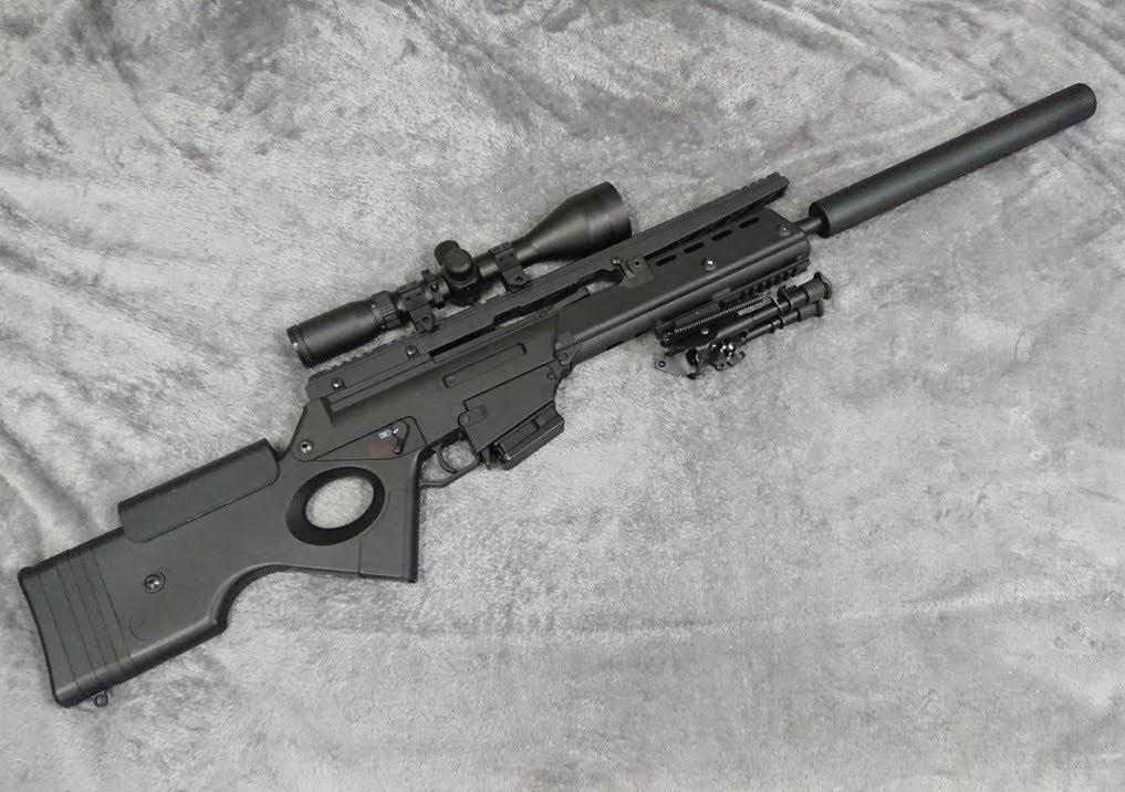 Конструкция винтовки «Heckler & Koch» SL 9 SD