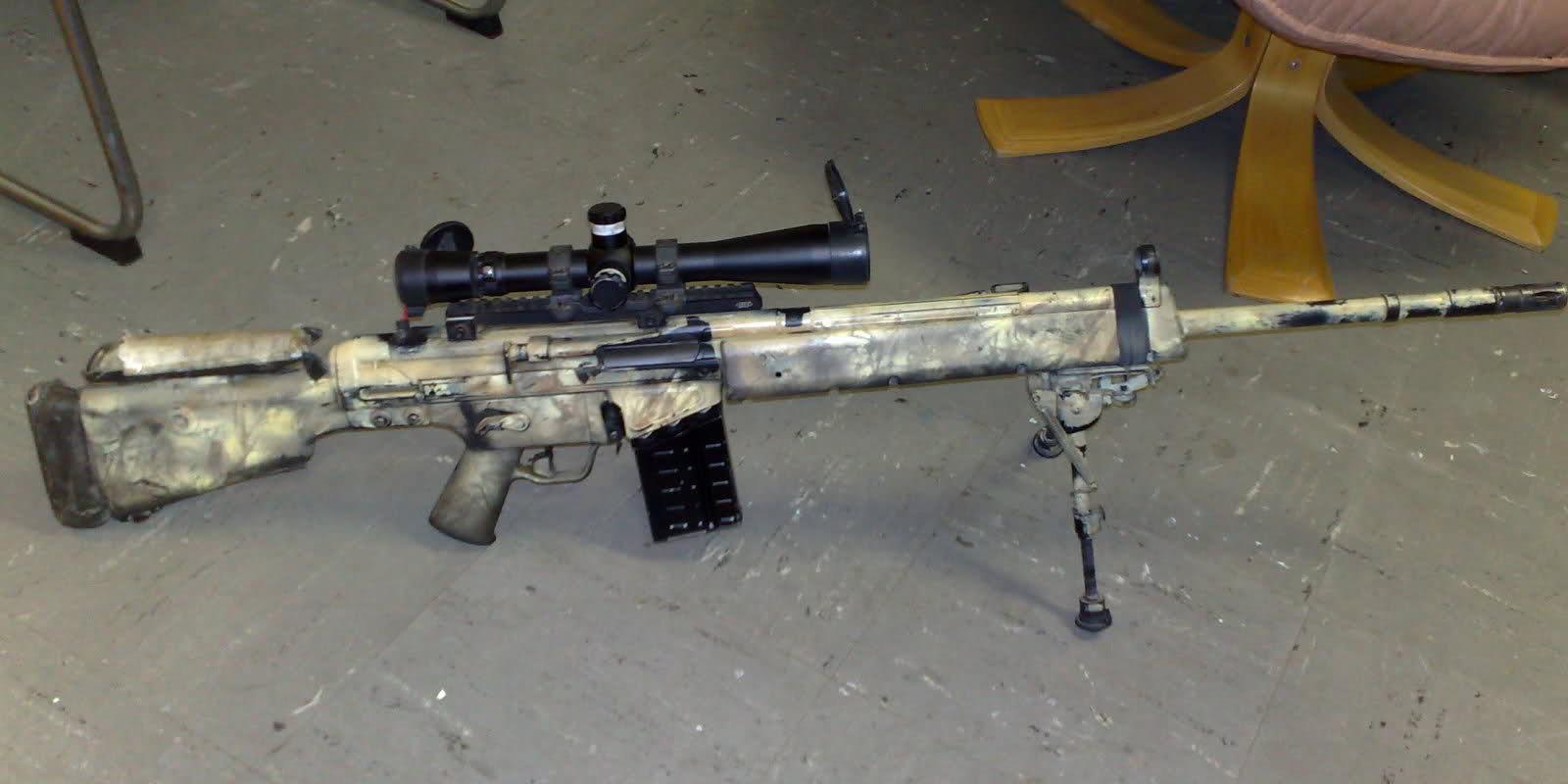 Конструкция винтовки «Heckler & Koch» MSG 90