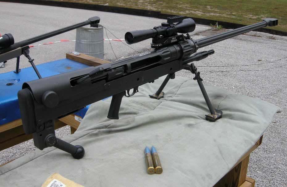 Конструкция винтовки «Mechem» NTW-20