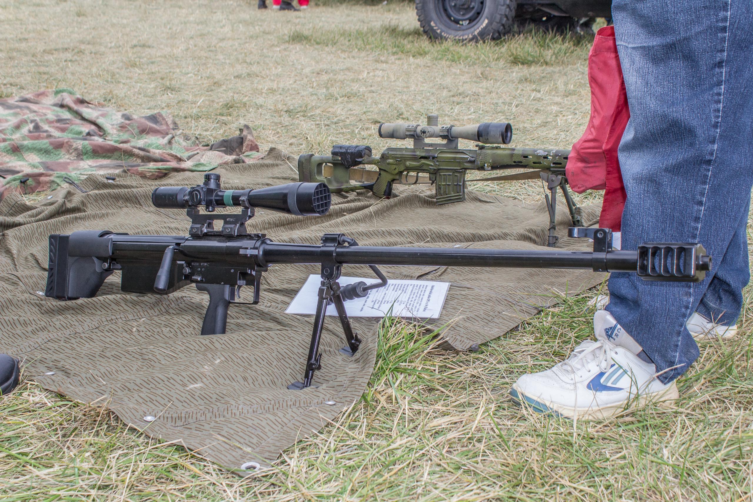 Конструкция винтовки «Falcon» OP-96