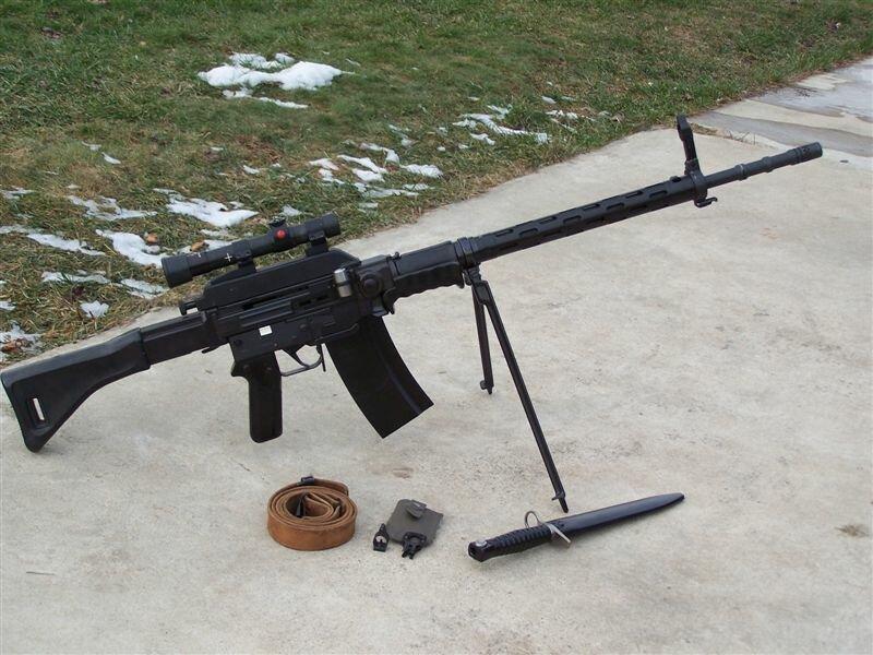 Штурмовые винтовки SIG SG 510 и SG 550 (Швейцария)