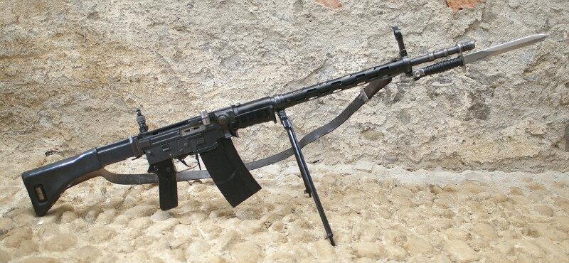 Конструкция винтовки SIG SG 510
