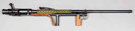 Конструкция винтовки «Carl Gustav» m/42