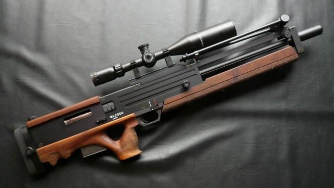 Конструкция винтовки WA 2000