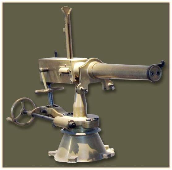 Конструкция пулемета «Gardner»