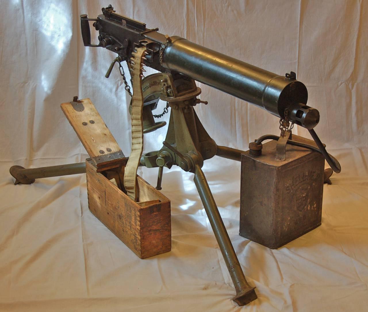 Станковые пулеметы «Vickers» (Великобритания)