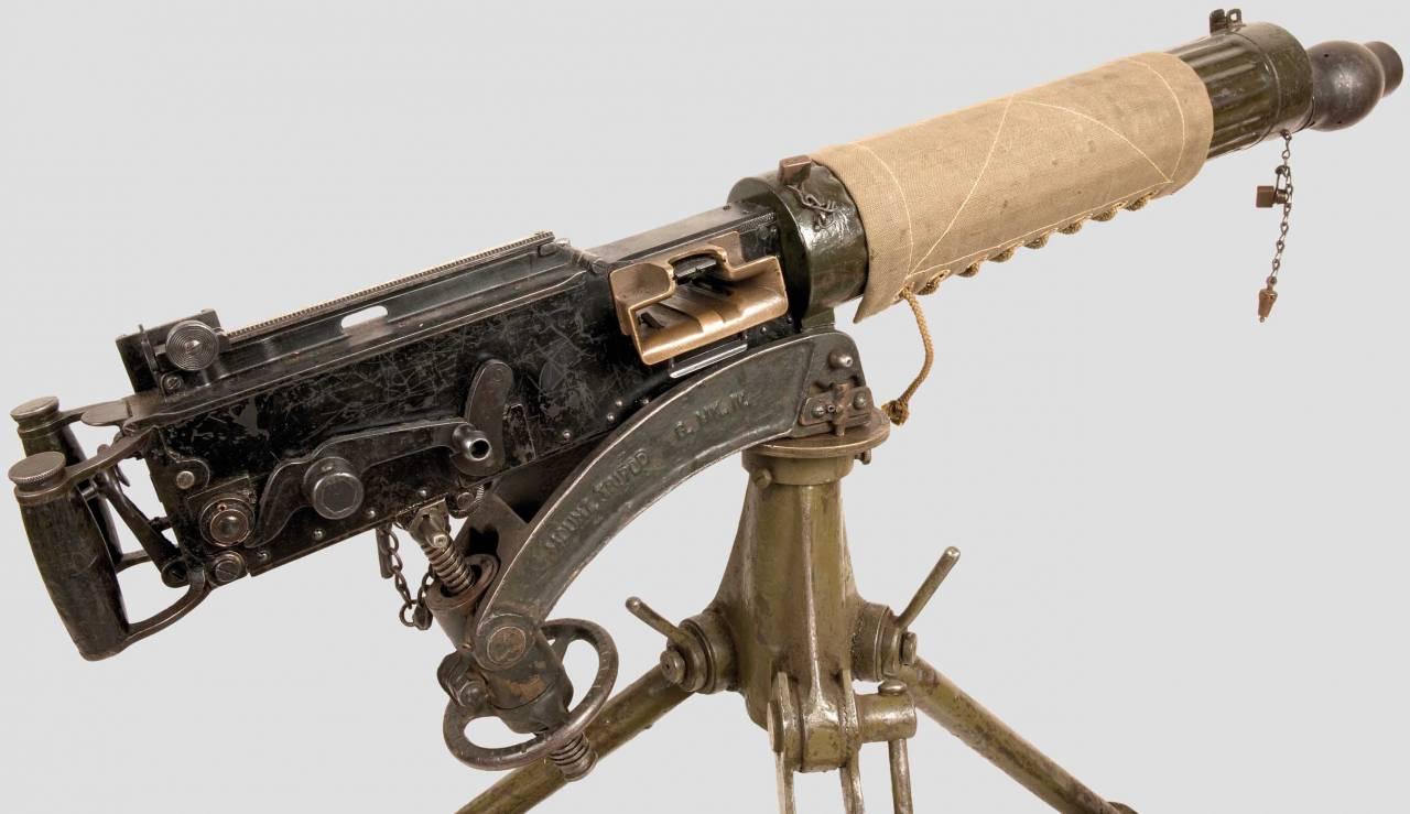 Конструкция крупнокалиберного пулемета «Vickers»