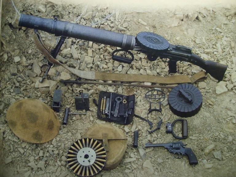 Конструкция пулемета «Lewis»