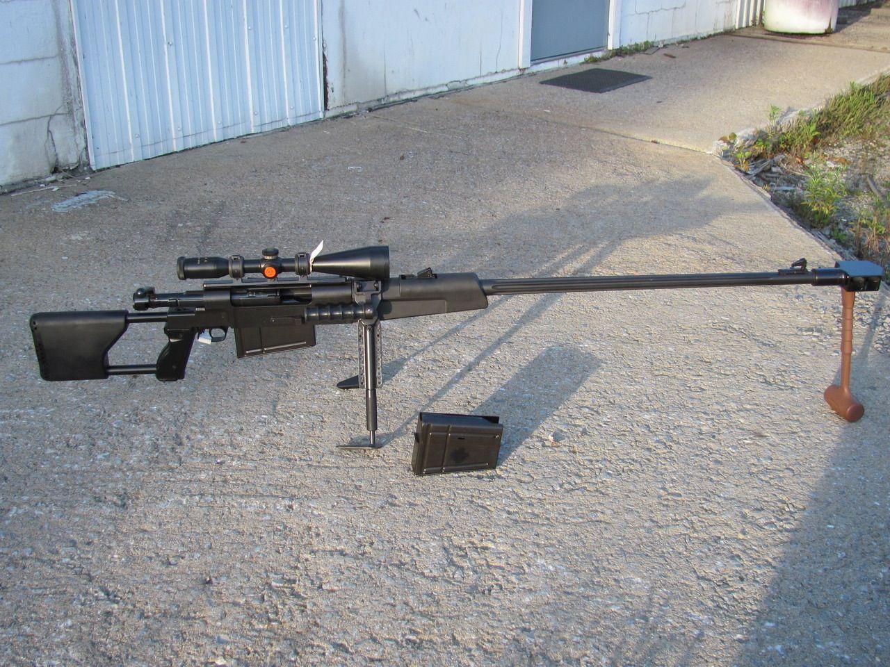 Конструкция винтовки М 93 «Black Arrow»
