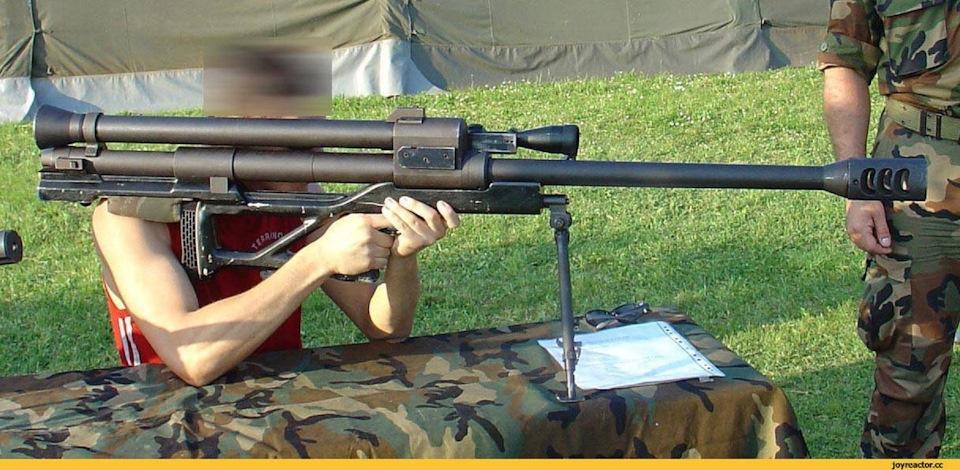 Конструкция винтовки RT-20