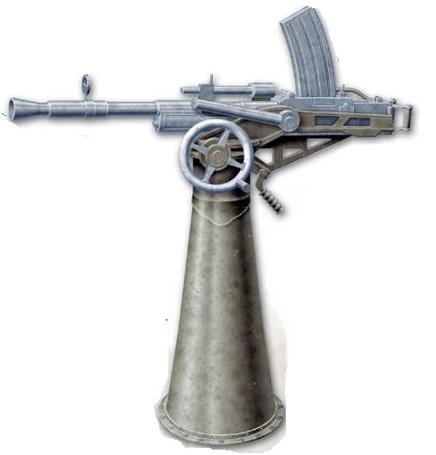 Крупнокалиберный пулемет «Vickers-Berthier» (Великобритания)