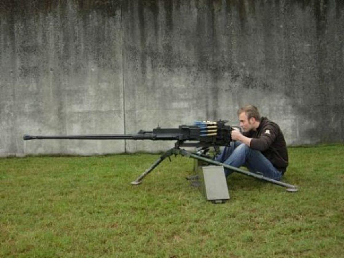 Крупнокалиберный пулемет FN BRG 15 (Бельгия)