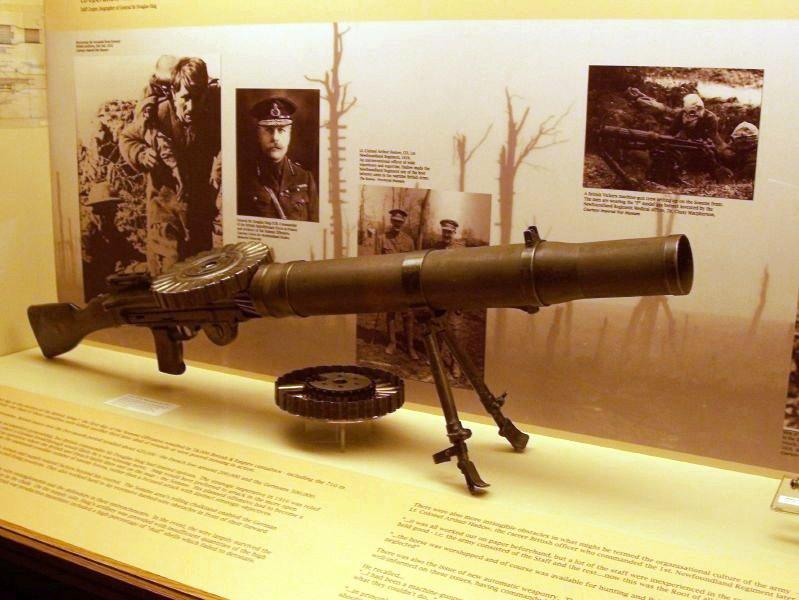 Ручной и авиационный пулеметы «Lewis» (Великобритания)