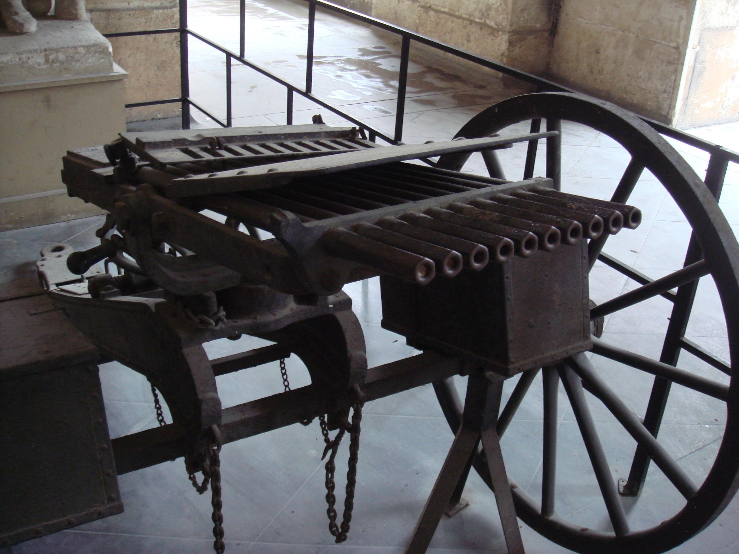 Многоствольные пулеметы «Nordenfeldt» (Великобритания)