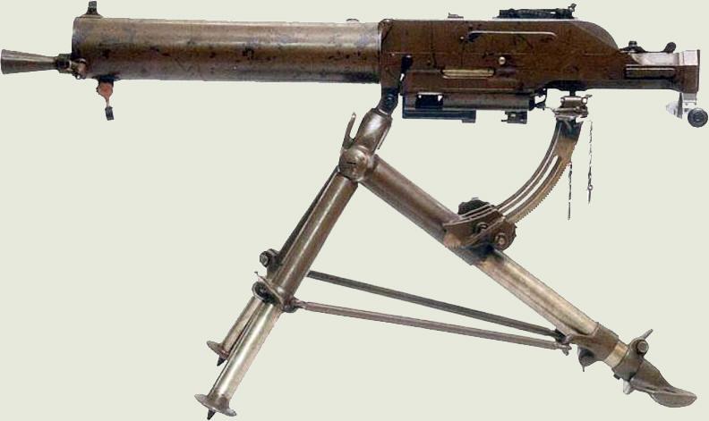 Конструкция пулемета «Schwarzlose» обр. 1907/1912 гг.