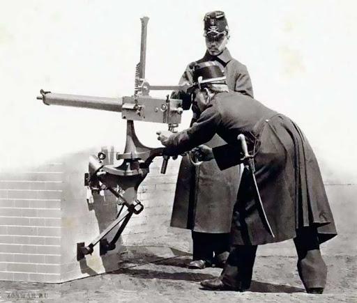 Многоствольные пулеметы «Gardner» (Великобритания)