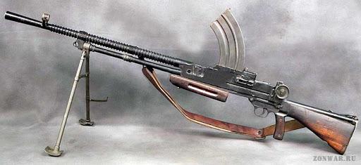 Конструкция пулемета «Vickers-Berthier»