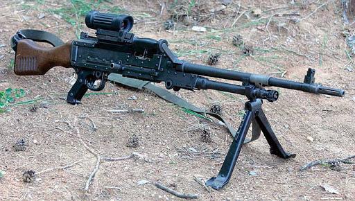 Универсальный пулемет FN MAG (Бельгия)