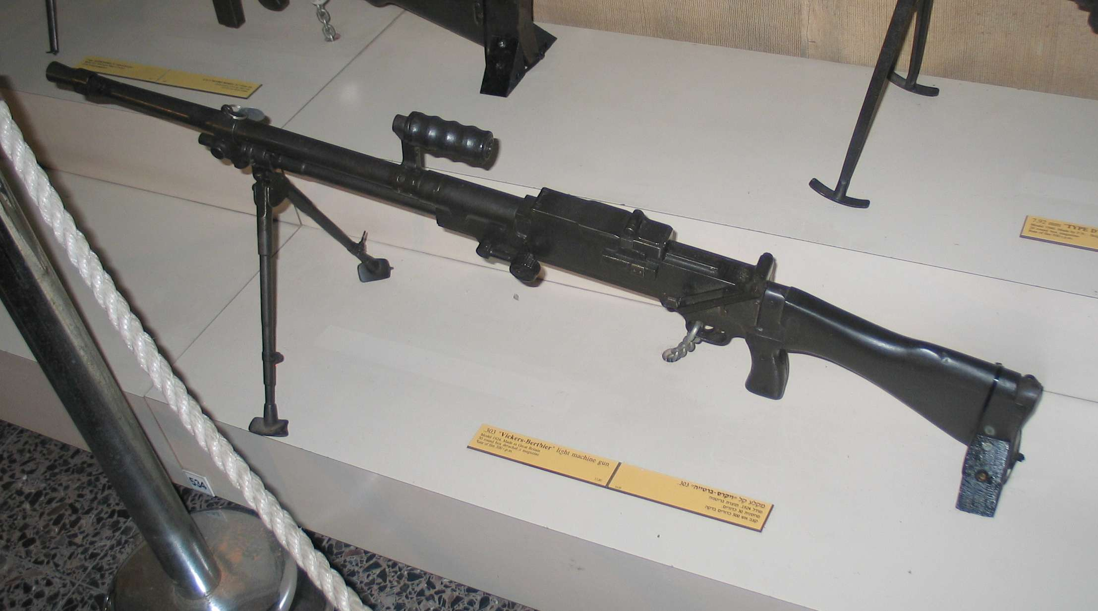 Ручной и авиационный пулеметы «Vickers-Berthier» (Великобритания)