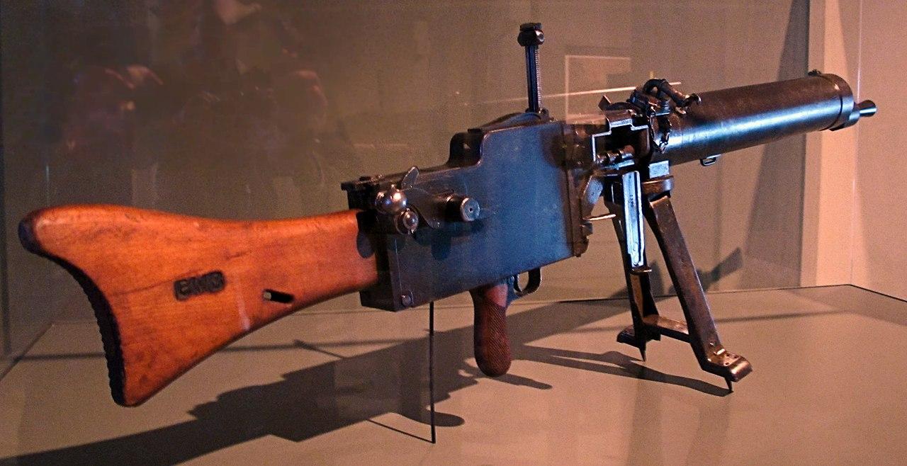 Конструкция пулемета MG 08/15