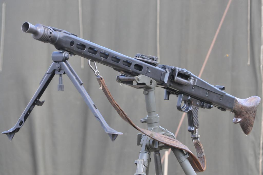 Конструкция пулемета MG 42