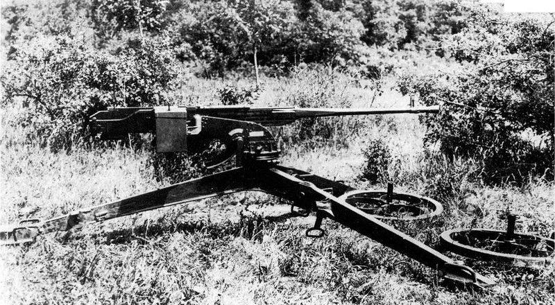 Крупнокалиберный пулемет BESA (Великобритания)