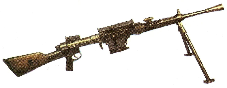Конструкция пулемета «Breda» Mod. 30