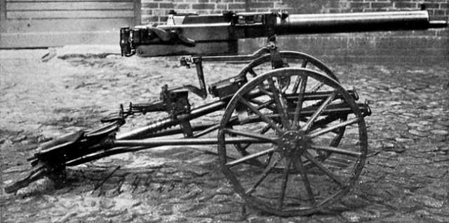 Крупнокалиберный пулемет MG 18 TUF (Германия)