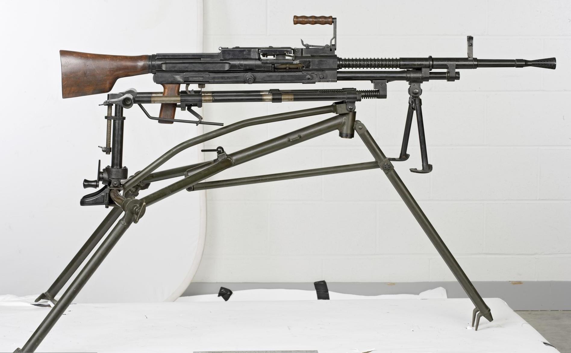 Пулеметы «Madsen-Saetter» (Дания)