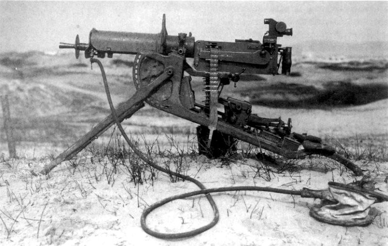 Станковый пулемет «Maxim» MG 08 (Германия до 1945 г.)