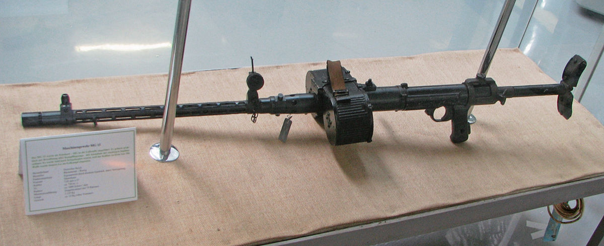 Ручные и авиационные пулеметы MG 15 и MG 17 (Германия)