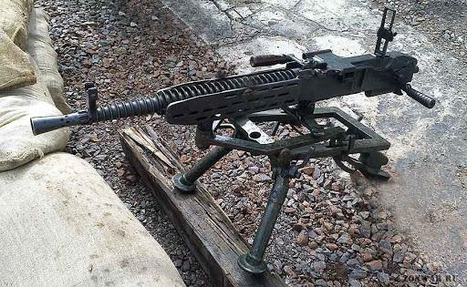 Станковый пулемет BESA (Великобритания)