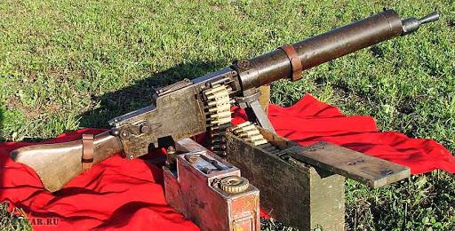 Ручной пулемет MG 08/15 (Германия)