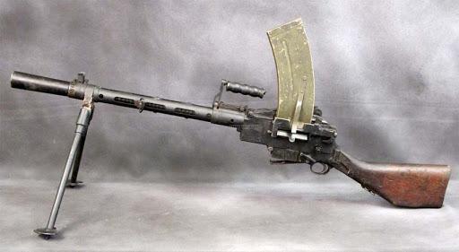 Конструкция пулемета «Madsen»