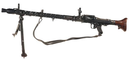 Конструкция пулемета MG 34