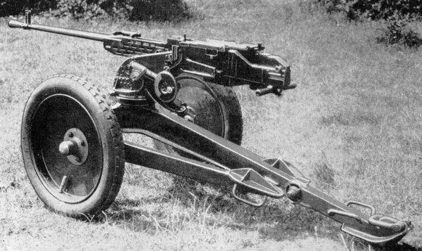Конструкция пулемета BESA калибра 15 мм