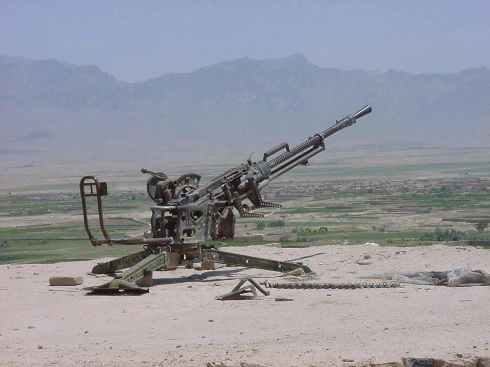 Крупнокалиберный пулемет Владимирова КПВ/ПКП (СССР-Россия)
