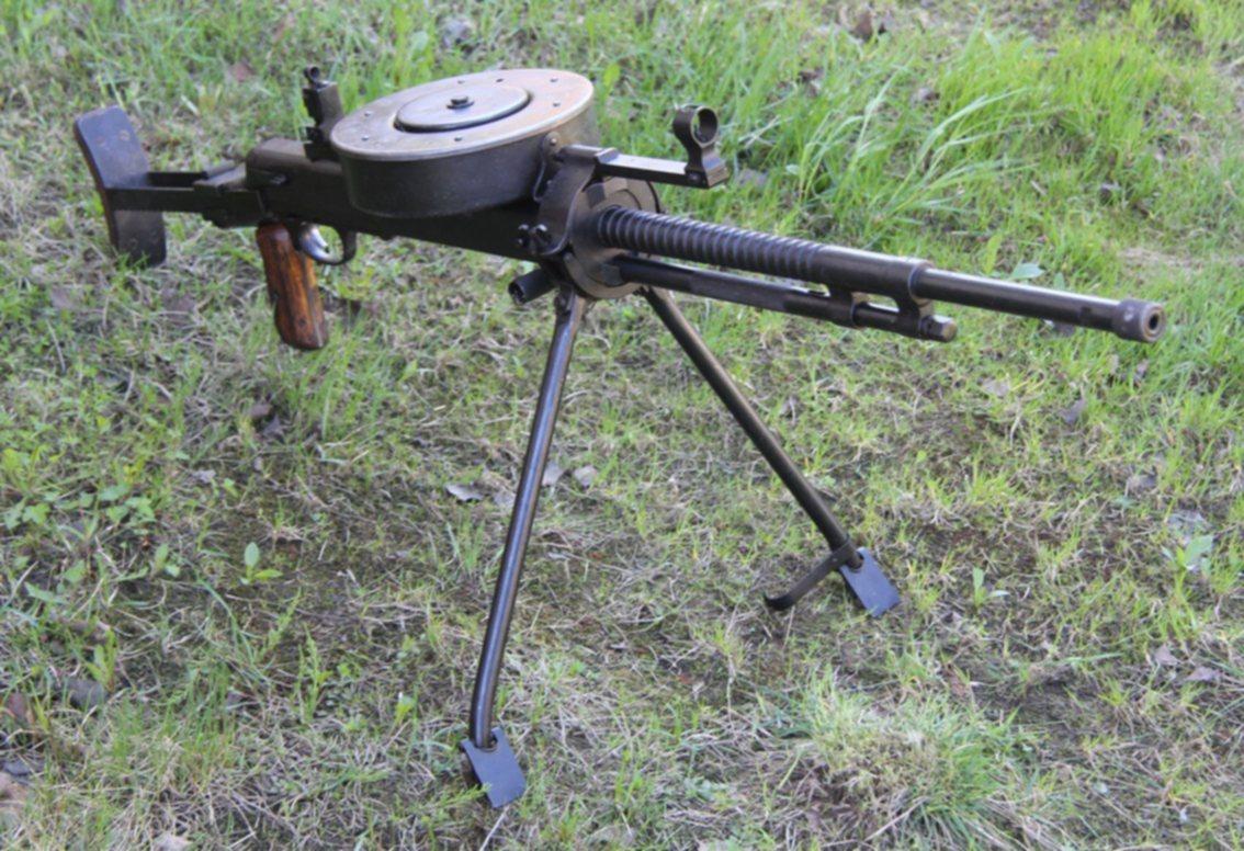Ручной и танковый пулемет Дегтярева ДТ-29 (СССР)