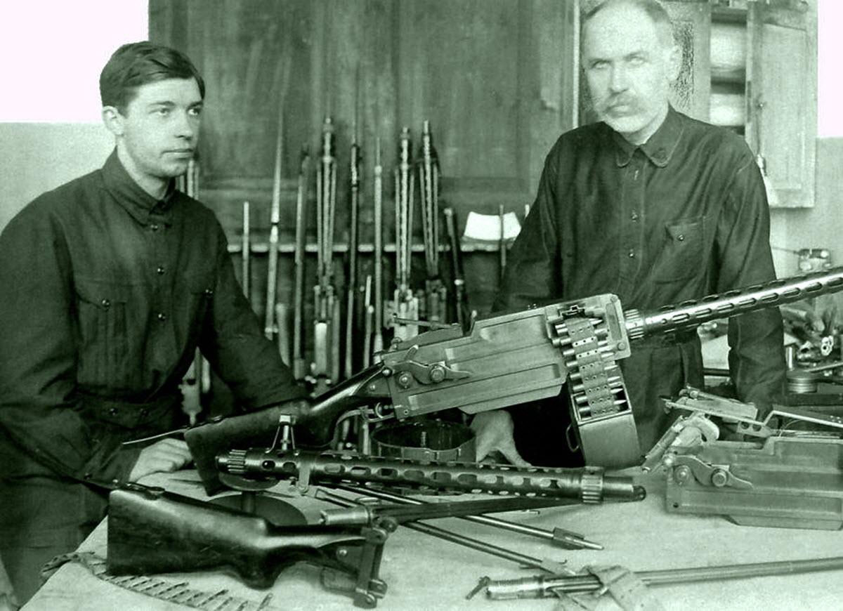 Ручной пулемет Максима-Токарева МТ (СССР)