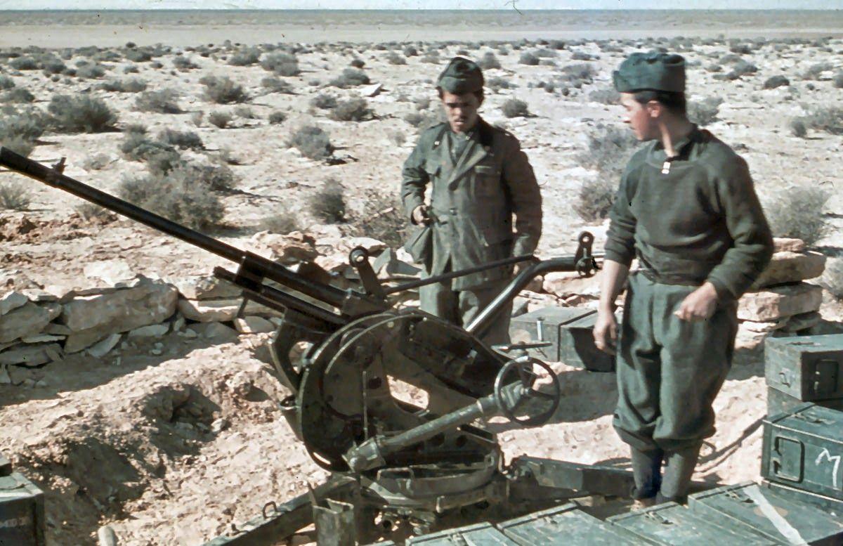 20-мм автоматическая пушка «Breda-SAFAT» Mod. 35 (Италия)