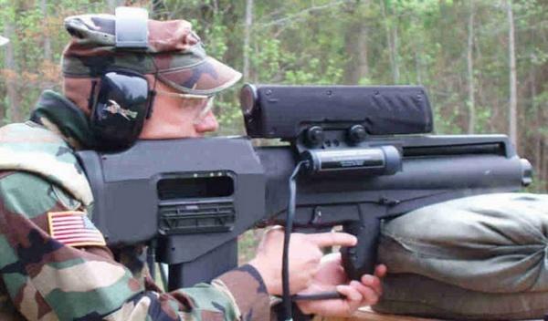 Самозарядный ручной гранатомет АТК ХМ 25 (США-ФРГ)