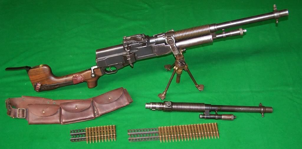 Ручные пулеметы «Hotchkiss» (Франция)