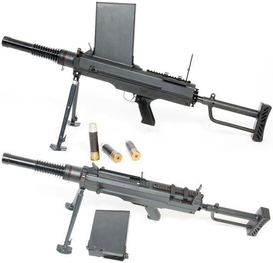Самозарядный ручной гранатомет CZW SAG-30 (Чешская Республика)
