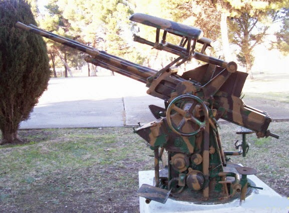 Автоматические пушки 25,4 mm «Vickers» (Великобритания)