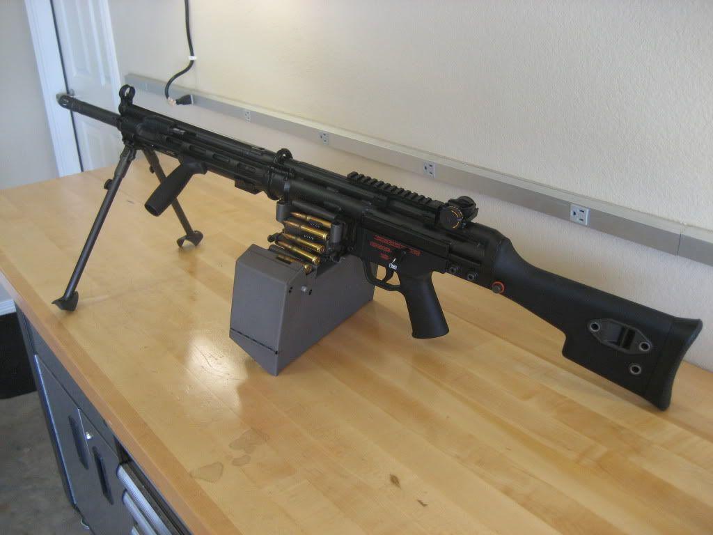 Универсальные пулеметы «Heckler & Koch» НК 21 и НК 23 (ФРГ)