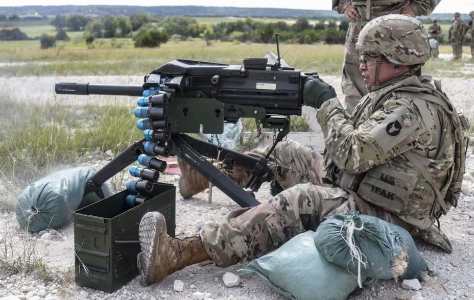 Автоматический гранатомет Mk 19 (США)
