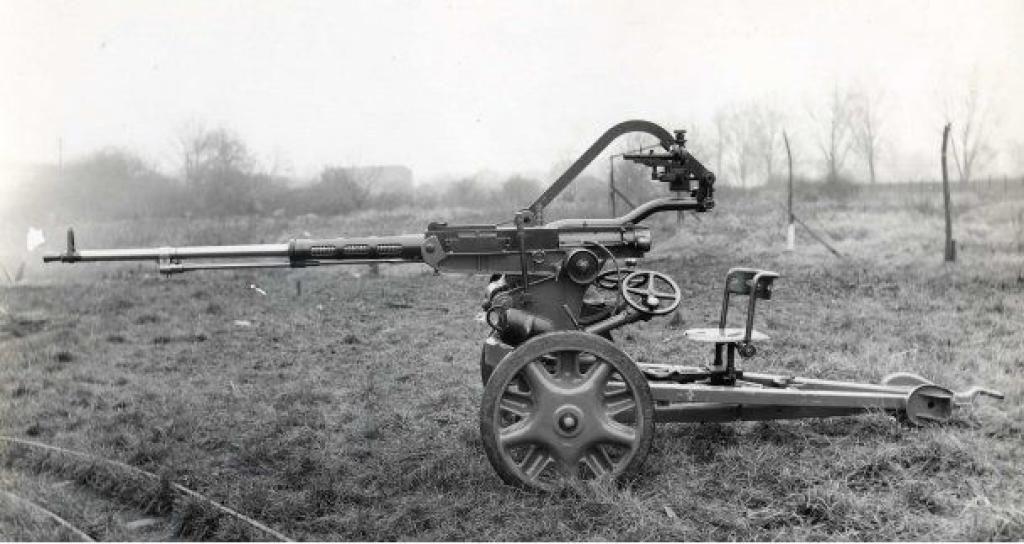 20-мм автоматическая пушка «Scotti-Isotta Fraschini» Mod. 38 (Италия)