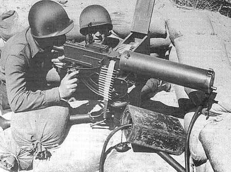 Станковый пулемет «Browning» М 1917 (США)